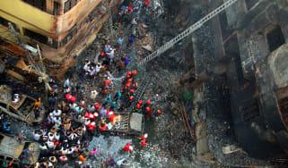 Bangladesh fire