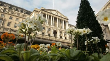 The Bank of England in bloom