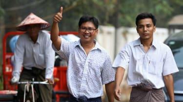 Journalists, Myanmar