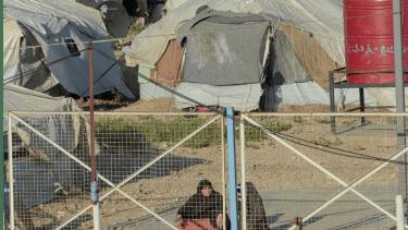 مخيم للاجئين في سوريا