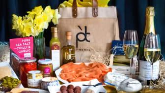Pied à Terre luxe foodie Easter picnic hamper