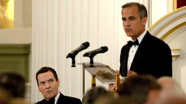 Mark Carney, IMF, George Osborne