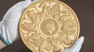 Royal Mint has unveiled the largest coin in its 1,100-year history