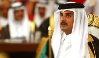 Sheikh Tamim Bin Hamad Al Thani, the Emir of Qatar