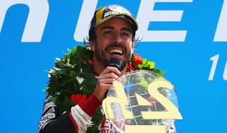 Fernando Alonso Le Mans 24 Hours Toyota