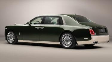Rolls-Royce and Hermès bespoke Phantom Oribe