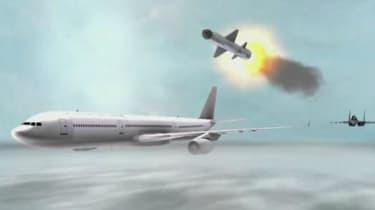 Saudi plane video