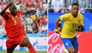 Brazil vs. Belgium World Cup quarter-final
