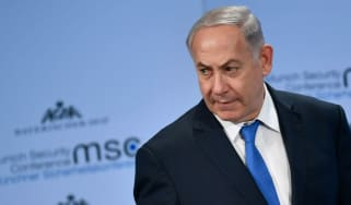 Benjamin Netanyahu at the Munich Security Conference