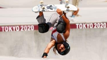 Team GB skateboarder Sky Brown