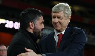 Is AC Milan head coach Gennaro Gattuso going to be replaced by Arsene Wenger?