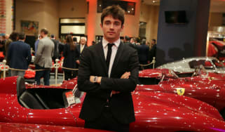 Charles Leclerc has moved from Sauber to Ferrari for the 2019 Formula 1 season