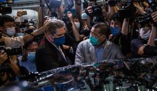 Hong Kong pro-democracy campaigner Jimmy Lai