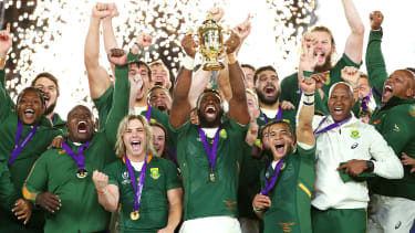 Siya Kolisi South Africa Rugby World Cup final 2019
