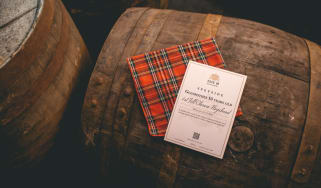 A cask of Glenrothes 10 Years Old whisky