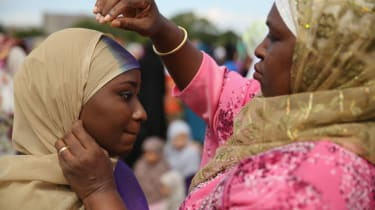 Muslim women hijab