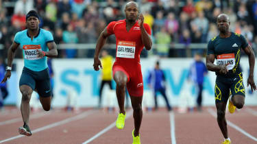 Asafa Powell: With Usain Bolt only running in the relay, Yohan Blake out injured and Powell banned, Jamaica's sprint team loo
