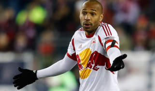 Thierry Henry playing for New York Red Bulls