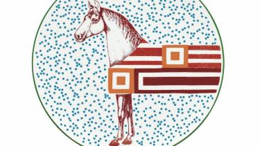 Hermes Hippomobile tableware