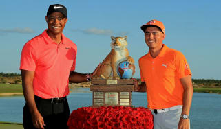 Tiger Woods Rickie Fowler golf Hero World Challenge