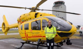 East Anglian Air Ambulance, Prince William