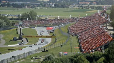 The Formula 1 Austrian Grand Prix is held at the Red Bull Ring in Spielberg