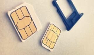 Mobile phones sim cards