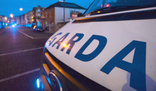 Garda vehicle in Dublin