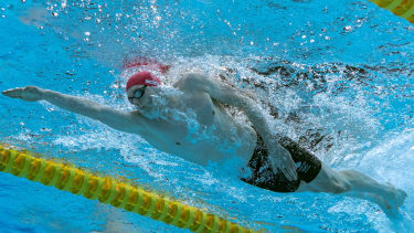 Duncan Scott swam a brilliant final leg in the 4x200m freestyle relay