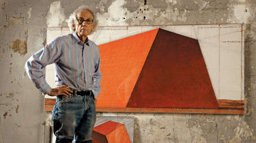 the_mastaba_-_christo_in_his_studio_with_a_preparatory_drawing_for_the_mastaba.jpg