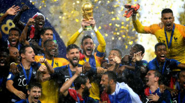 2018 FIFA World Cup Final France 4 Croatia 2 Hugo Lloris