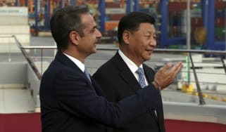 Kyriakos Mitsotakis, Xi Jinping, China, Greece