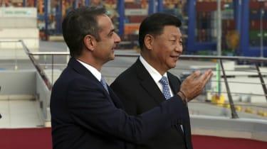 Kyriakos Mitsotakis, Xi Jinping, China, Greece