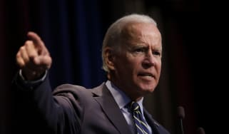 Joe Biden speaks at the Iowa Federation Labor Convention