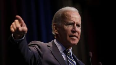 Joe Biden speaks at the Iowa Federation Labor Convention