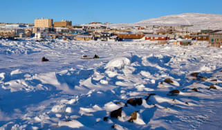 The town of Iqaluit in Nunavit, northern Canada