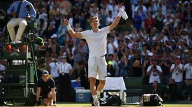 Wimbledon 2018 Kevin Anderson Roger Federer
