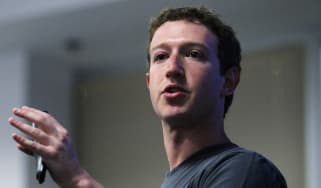 PALO ALTO, CA - JULY 06:Facebook CEO Mark Zuckerberg speaks during a news conference at Facebook headquarters July 6, 2011 in Palo Alto, California.Zuckerberg announced new features that are