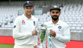 England vs. India Test series Joe Root Virat Kohli
