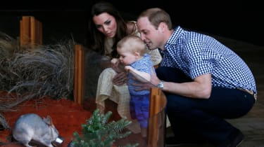 Prince George on a royal tour of Australia and New Zealand
