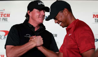 Golf rivals Phil Mickelson and Tiger Woods will face each other in 'The Match'