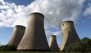 Drax coal-fired power station near Selby