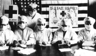 Spanish flu nurses