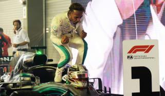 Lewis Hamilton 2018 F1 Singapore Grand Prix