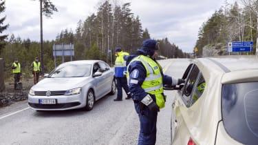 A Covid roadblock in Finland