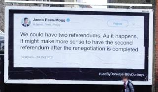 Led By Donkeys Brexit Advertising