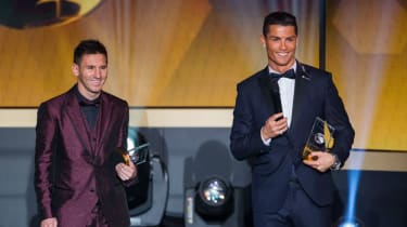 Lionel Messi and Cristiano Ronaldo have both won five Ballon D'or awards