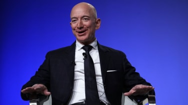 Jeff Bezos is founder of Amazon and space venture Blue Origin