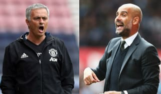 Manchester City vs Manchester United derby Premier League