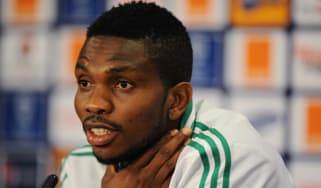 Nigeria's Defender and captain Joseph Yobo